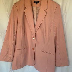 Chadwicks of Boston NWOT Blazer Pink Wool 14 Tall